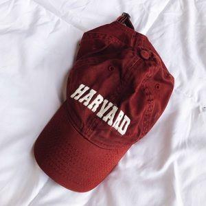 Harvard Logo Crimson Ball Cap / Baseball Hat